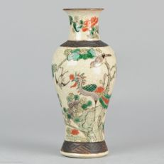 Nanking vase with phoenix - China - ca 1900