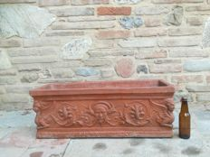 Large Italian terracotta planter 1920 1930