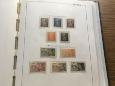 Spain 1950/1965 – Collection of stamps in album