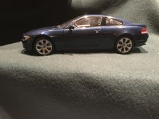 Kyosho - Scale 1/18 - BMW 6-series M6 coupe E63 2005 - Blue
