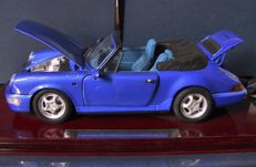 Anson - Scale 1/14 - Porsche 911 Carrera 4 Cabriolet - Light blue