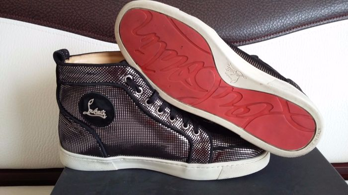 Christian Louboutin - Rantus Orlato High - Top Heren Sneakers - Origineel
