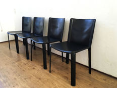 Cidue - set of 4 rigid chairs