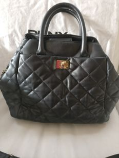 DKNY - anthracite coloured hand/shoulder bag
