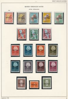 Netherlands - New Guinea and Papua New Guinea 1950/2004 - collection on album sheets and leaflets