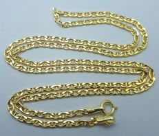 14 Ct Gold Chain. 45 cm