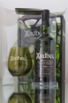 Ardbeg Ten in Camouflage giftset with glass