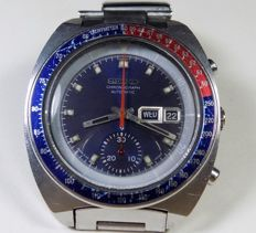 Seiko 6139-6002 - Pepsi Bezel Chrono - Blue Shadow Dial - 1970 - Men's Chronograph