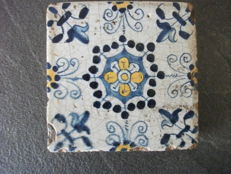 Tile from Haarlem, 17th century