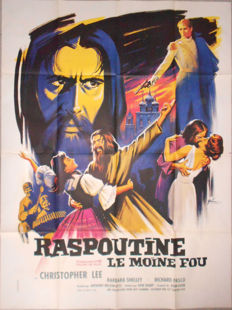 Boris Grinsson - Raspoutine le moine fou / Rasputin the mad monk (Christopher Lee) - 1966