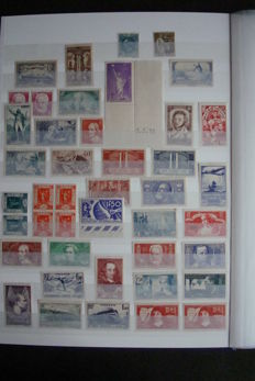 France 1934/1964 – Collection of stamps.