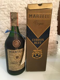 Martell 'Cordon Bleu' Cognac - 75cl - Bottled 1975