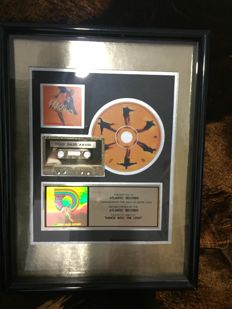 Phil Collins Gold Sales Award