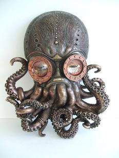 Industrial Octopus Wall Mask