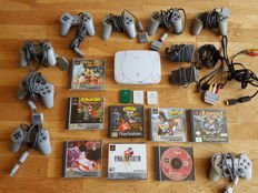 PS One  incl games and accessory. Games like Crash Bandicoot 1 ,2 and 3