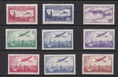 France 1930/1959 - Selection of air mail - Yvert between PA no. 5 and 37