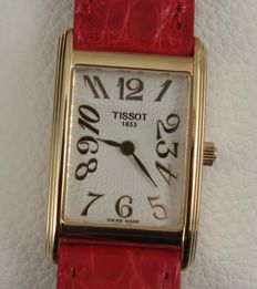 Tissot - New Helvetia 18K - T71331732 - Ladies gold watch