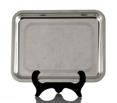 Chistofle Vintage Art Deco Small Tray Etched