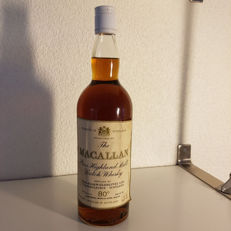 Macallan 80 proof - unknown 50s vintage - bottled in the 1970s - OB