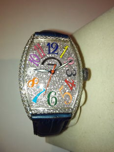 Franck Muller - White Gold Diamond Automatic  - 5850 SC D CD - 女士 - 2011至现在