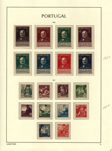 Portugal 1940/1945 -- Selection of series and mini sheets