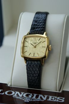 Longines - 18K Gold-plated wristwatch - Dames