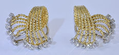 Designer Diamond earrings - No reserve price
