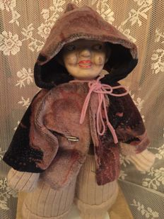 Antique character doll
