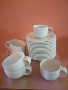 Rosenthal Studio Line - Suomi pure White - different parts of tableware.