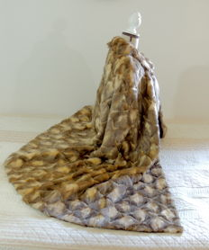 Fabulous vintage fur cape.
