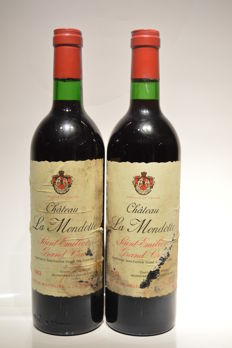 1983 Chateau La Mondotte, Saint-Emillion Grand Cru - 2 bottles