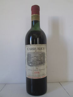 1958 Carruades de Chateau Lafite Rothschild, Pauillac - One bottle (75cl)