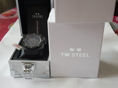 TW Steel - TW STEEL MEN.°s CEO BLACK DIAL LEATHER CHRONOGRAPH - CE4009 - Uomo - 2011-presente