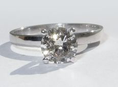 Ring 1.02 ct natural diamond ***No reserve price***