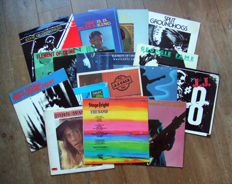 Great collection of 17 blues(rock) vinyl albums from Eric Clapton, B.B. King, Element Of Crime, Groundhogs, J.J. Cale, Georgie Fame, John Mayall, Ry Cooder, The Band and The Livin' Blues