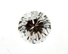 Brilliant cut diamond, 1.02 ct, D/VVS1 HRD certified, in pouch