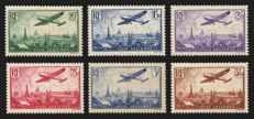France 1936 - Airmail - Yvert no: 8, 13.