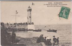 Very good batch of 45 old postcards on the lighthouses of France