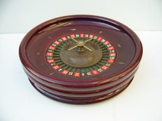 Wooden Casino Roulette - large model - Germany, first half of the 20th century