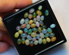 Lot Beautiful Natural Solid Opal - 12.3 cts