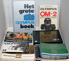 For the Olympus OM collector; user manuals and books