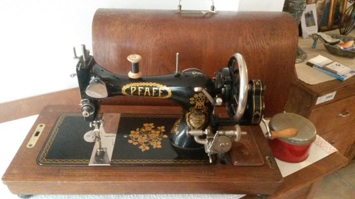 Pfaff 40 Decorative Singer Manual Sewing Machine 40 Catawiki Awesome Singer Manual Sewing Machine