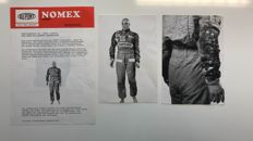 DU PONT NOMEX press information NIKI LAUDA 1976