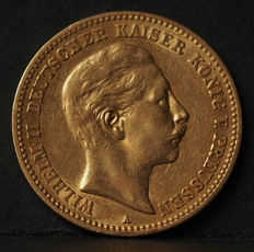 Germany, Prussia - 10 Mark 1901 A - gold
