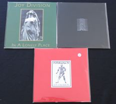 Joy Division: 3 great LP's, including 1x limited edition!