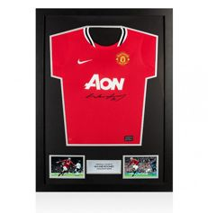 Wayne Rooney Signed Manchester United Shirt Deluxe - No Reserve price !