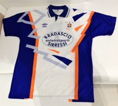Luton Town vintage soccer team shirt - England - 1991/1992 extremely rare