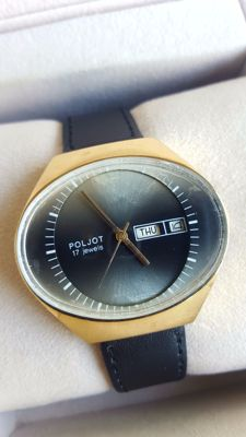 "Poljot - Classic ""Big Fish Eye"" Soviet Wristwatch  Men's 1970's in good condition"