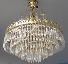 Chandelier made of Glass Crystal - Late 20th Century