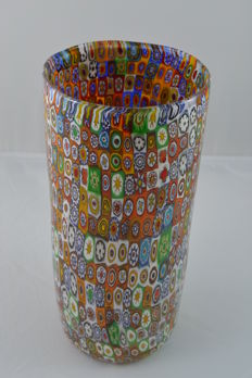 Imperio Rossi - Millefiori vase with Murrine